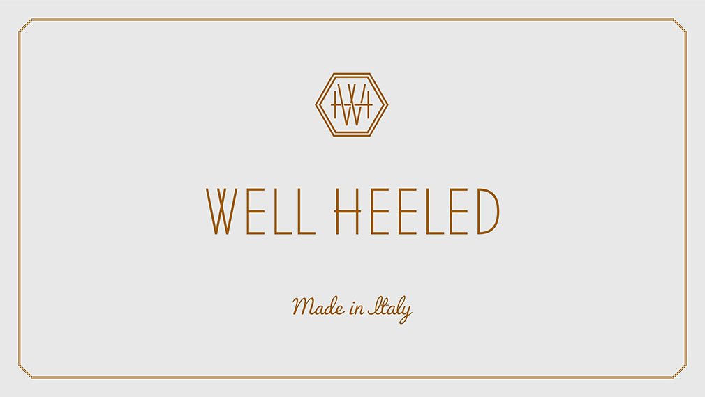 b72f6903dc70d1 Branding for Well Heeled luxury fashion campaign for Ted Baker footwear